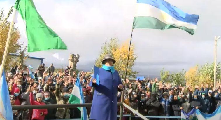 Около трёх тысяч активистов вышли на митинг против добычи меди вблизи Банного