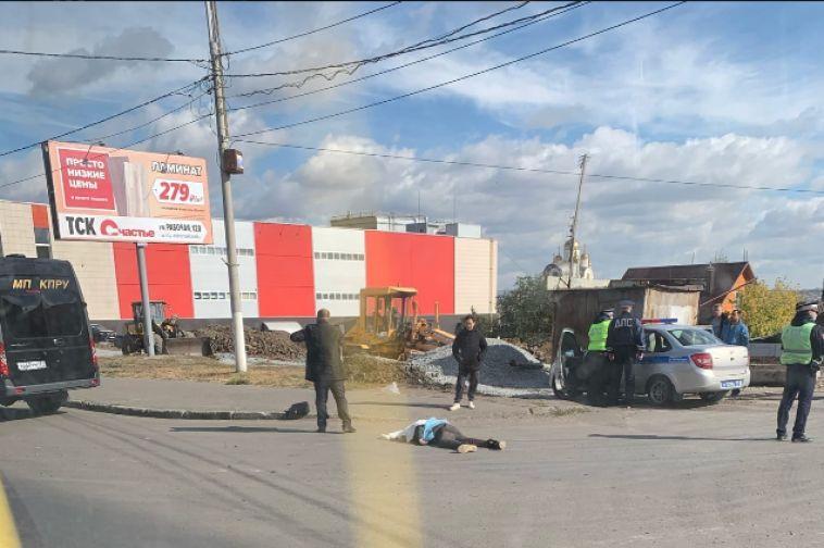 В Магнитогорске водитель грузовика насмерть сбил пешехода искрылся