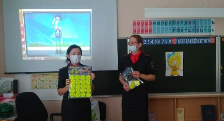 Первоклассники Магнитогорска приняли участие в акции