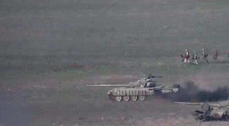 На границе Армении и Азейбарджана происходят военные действия