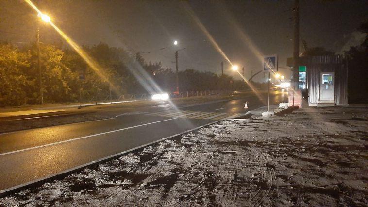 В Магнитогорске пьяный водитель сбил пешехода искрылся сместа происшествия