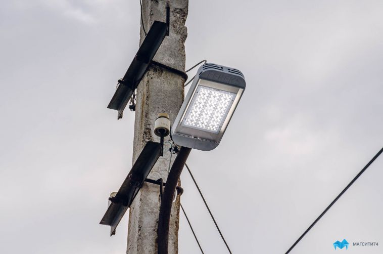 До конца года в городе заменят более тысячи светильников