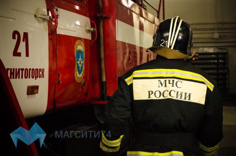 В Магнитогорске горели садовые дома, бани и лифт в девятиэтажке