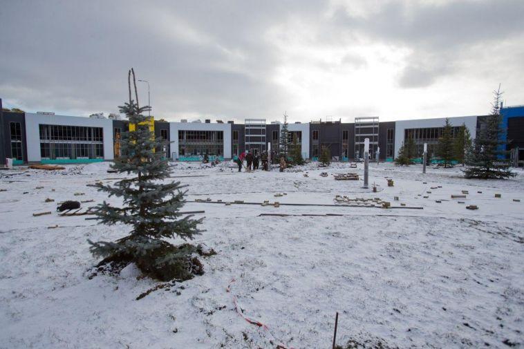 В Челябинской области завершают строительство инфекционной больницы