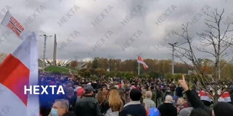 «Народный ультиматум»: вБелоруссии проходит многотысячная акция протеста