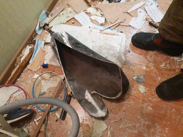 ВМагнитогорске вмногоэтажке взорвался баллон суглекислотой