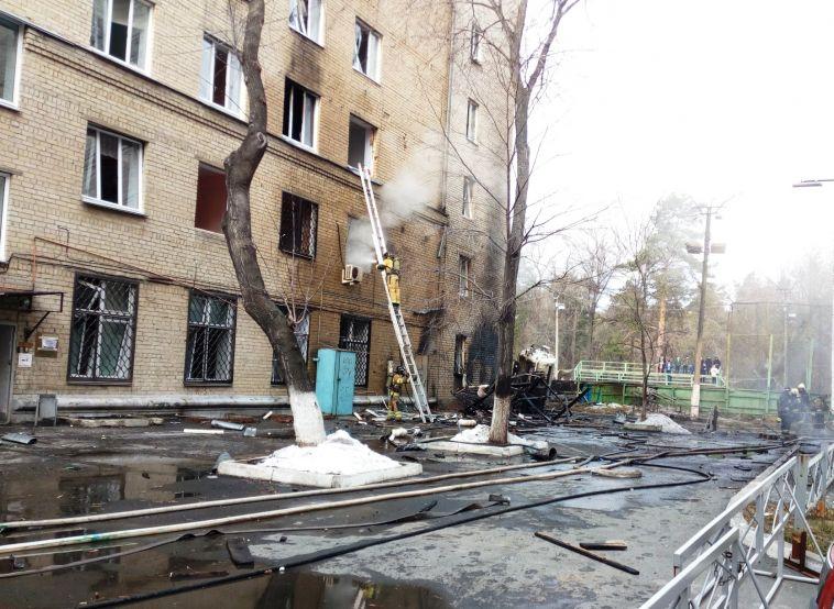 Ирина Гехт показала, как выглядит челябинская больница после взрыва