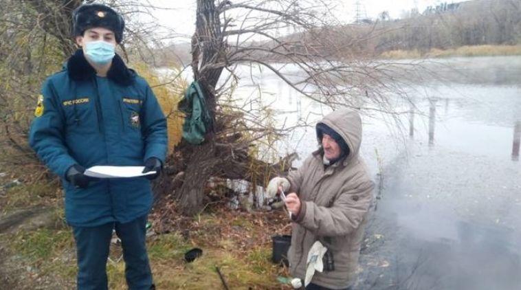 Сотрудники МСЧ провели инструктаж для рыбаков Челябинской области