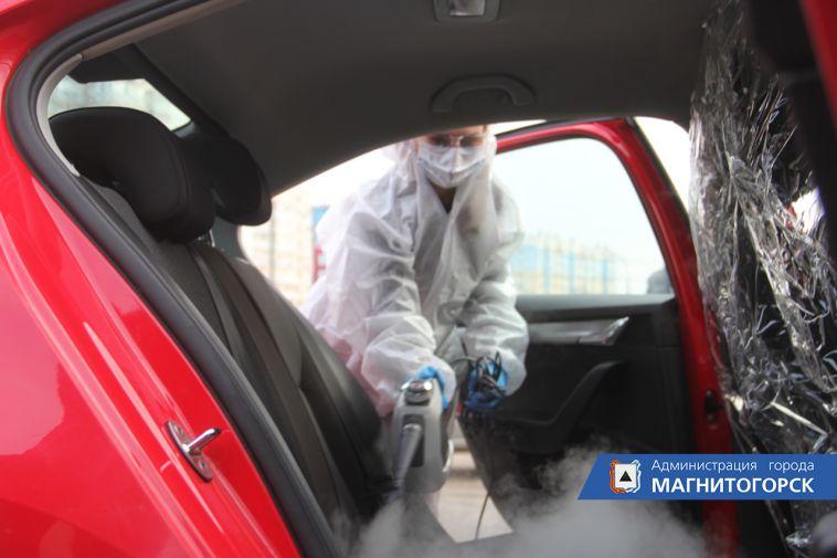 ВМагнитогорске таксисты вышли напомощь медикам