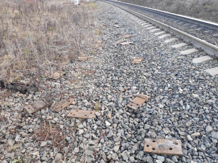 Магнитогорец украл металлолом, запрыгнув вполувагон грузового поезда