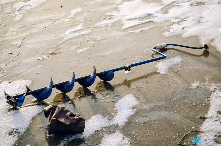 Под Магнитогорском нашли вмерзшее в лёд тело рыбака