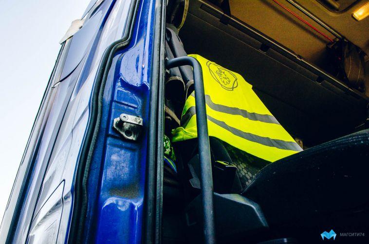 У магнитогорца из салона грузовика украли телефон