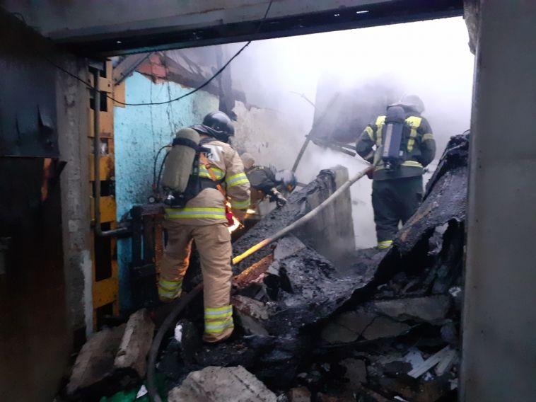 В Челябинске на заводе по производству пластиковых окон произошёл взрыв