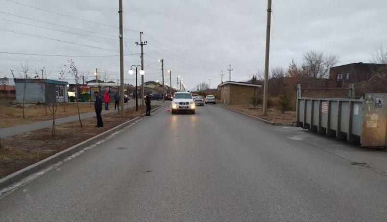 В Магнитогорске водитель сбил ребенка на самокате