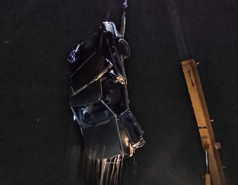 В Башкирии погибли три человека, угодив на машине в реку