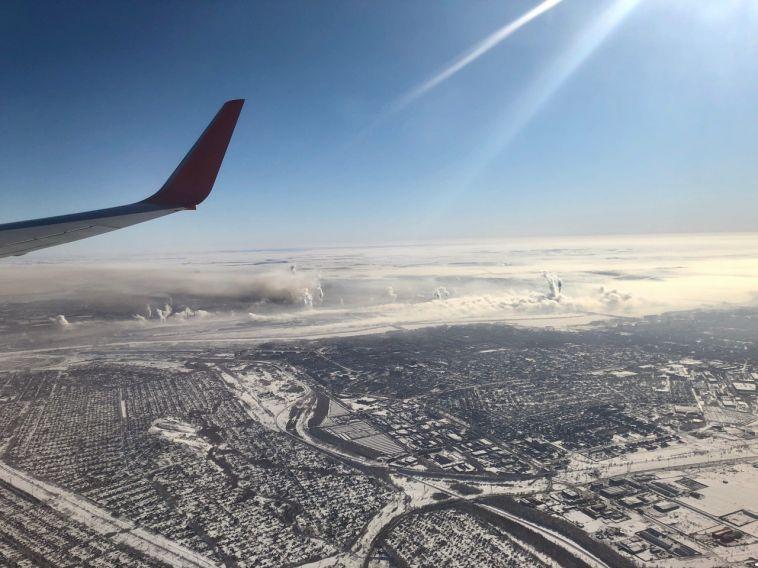 Туман скорректировал расписание рейсов магнитогорского аэропорта