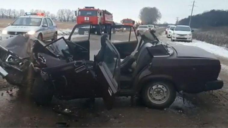 В смертельной аварии на башкирской трассе погиб 82-летний водитель