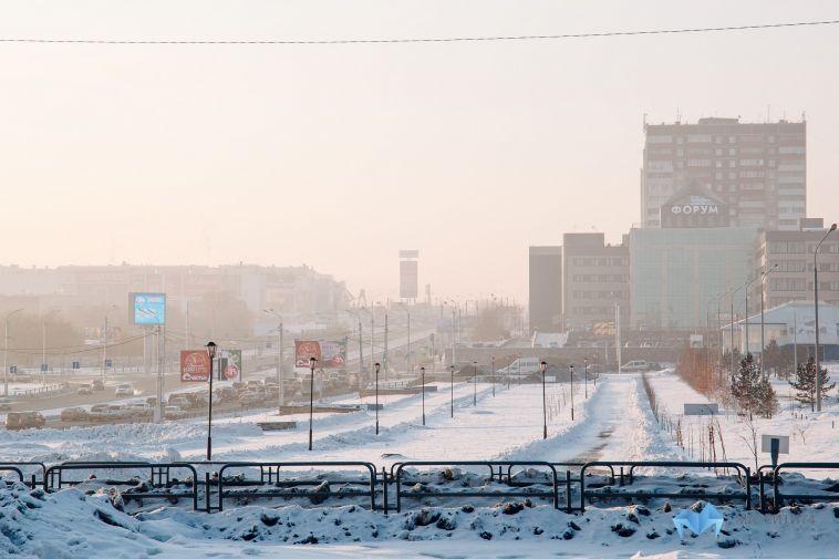 Неблагоприятные метеоусловия задержатся в Магнитогорске до вечера