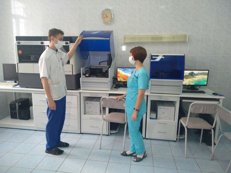 ММК приобрел новое оборудование для лаборатории медсанчасти