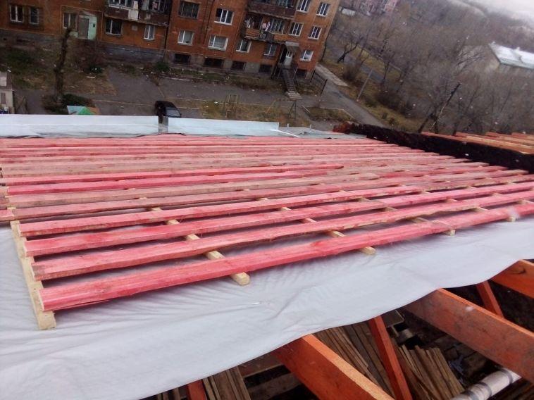 Продолжается восстановление сгоревшего дома на Пионерской