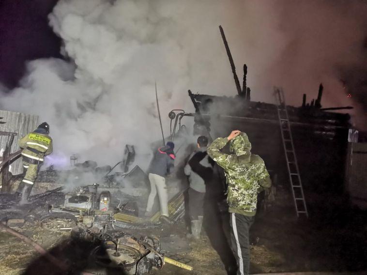 11 человек погибли в пожаре в Доме милосердия Абзелиловского района