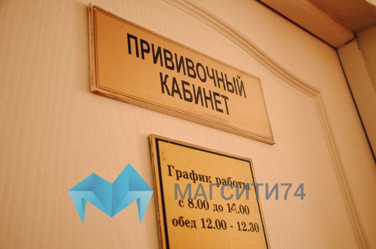 В Магнитогорске продолжают прививать медицинских работников от COVID-19