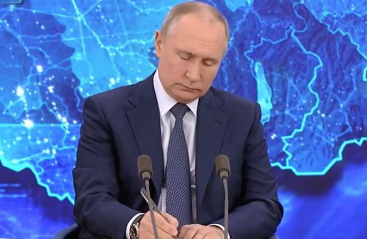 Президент России вновь провел большую пресс-конференцию