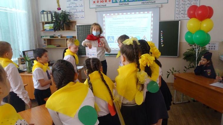 Вмагнитогорской школе прошёл день безопасности
