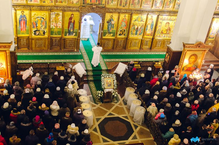 В магнитогорской епархии назвали график раздачи крещенской воды