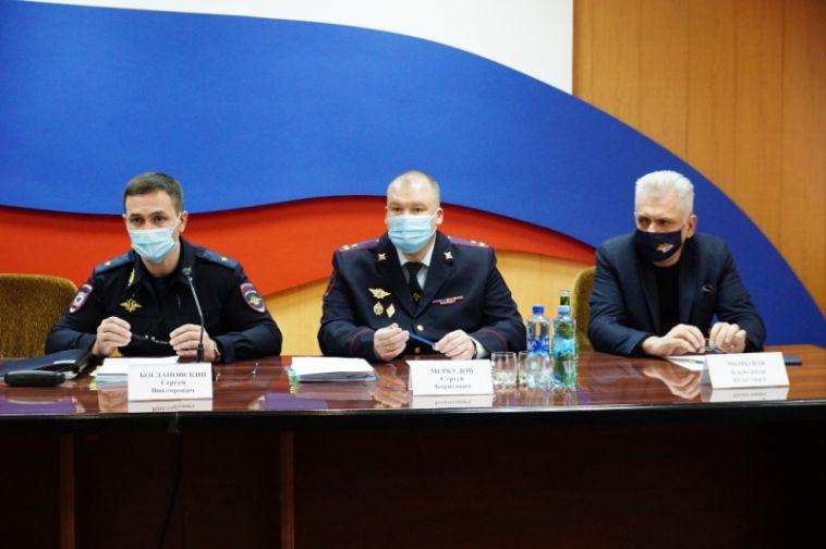 В Управлении МВД подвели итоги оперативно-служебной деятельности за прошлый год