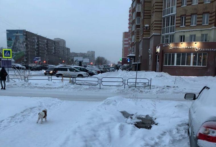 ВМагнитогорске убрали очередной пешеходный переход