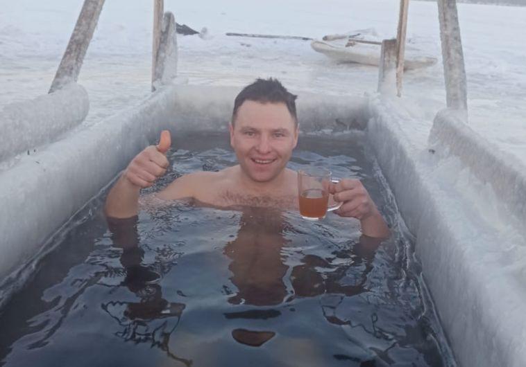 Житель Агаповки закалялся 100 дней перед Крещением