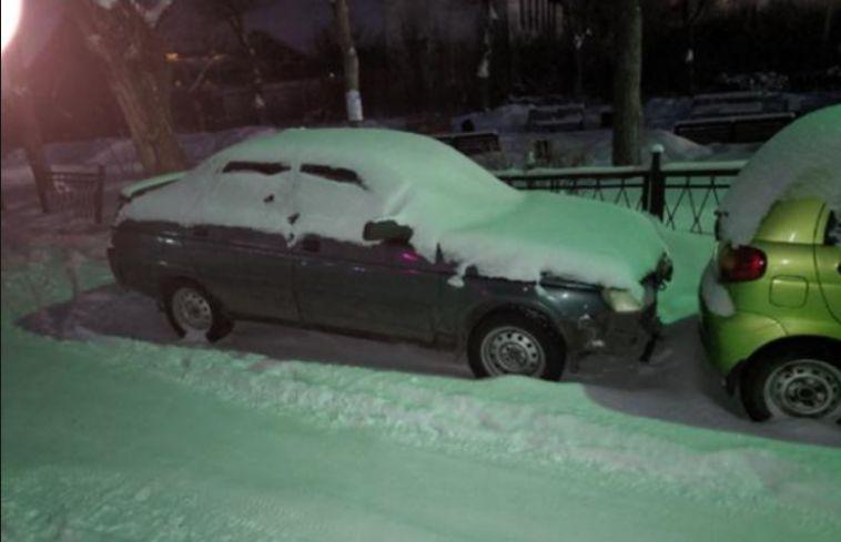 Сотрудники дорожной полиции нашли водителя, который скрылся сместа ДТП
