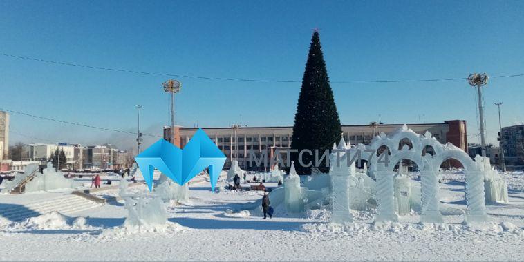 Как долго простоят ледовые городки в Магнитогорске?