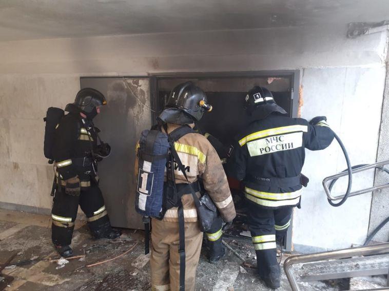 Вподземном переходе Челябинска произошёл взрыв
