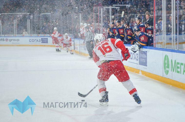 «Металлург» обыграл москивчей и досрочно вышел в плей-офф Кубка Гагарина