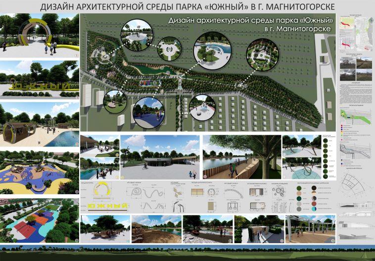 ВМагнитогорске насоздание парка собираются потратить 60 миллионов