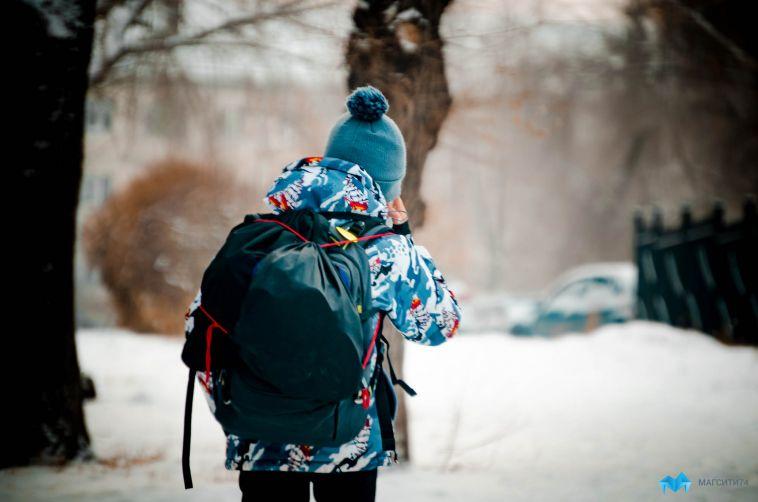 Сегодня в Магнитогорске не стали отменять школьные занятия