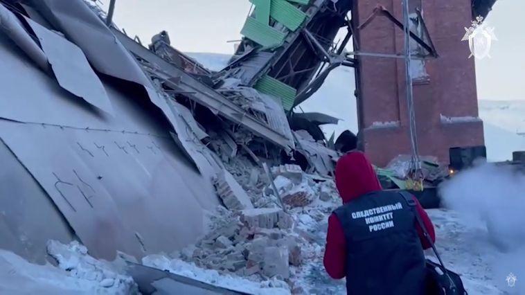 ВНорильске обрушился цех обогатительной фабрики