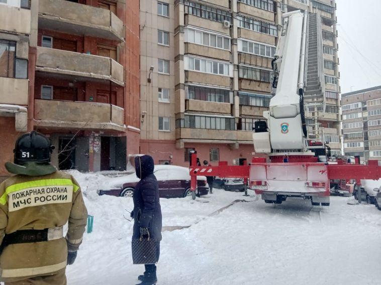 В Магнитогорской многоэтажке загорелась проводка
