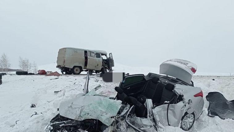 На трассе Магнитогорск-Ира произошло смертельное ДТП