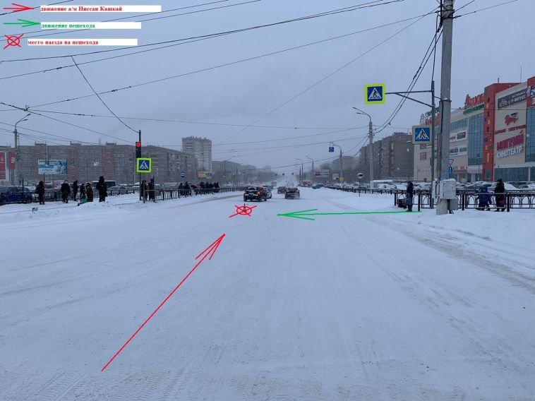В Магнитогорске школьница попала под колёса автомобиля