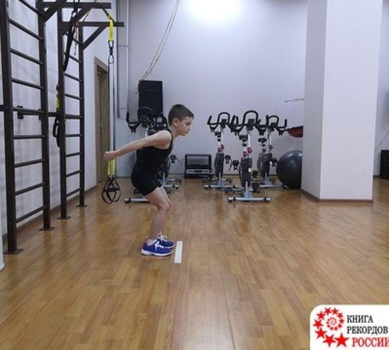Юный магнитогорец установил три новых рекорда России