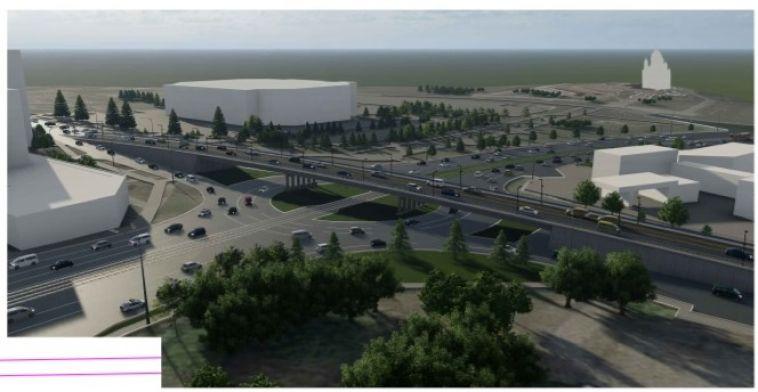 В Магнитогорске готовятся к строительству многоуровневой развязки