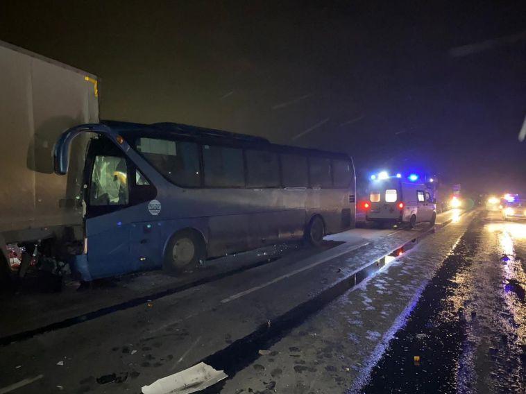 ВБашкирии всмертельное ДТП попал автобус стуристами