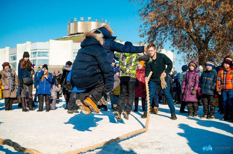 Отметили в славянских традициях. В Магнитогорске прошёл фестиваль национальных видов спорта