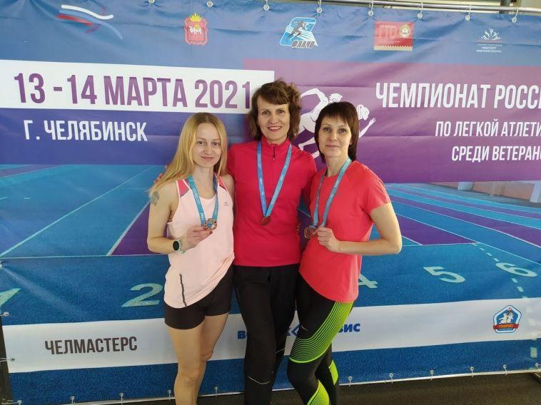 Врегионе прошел чемпионат России полегкой атлетике среди ветеранов