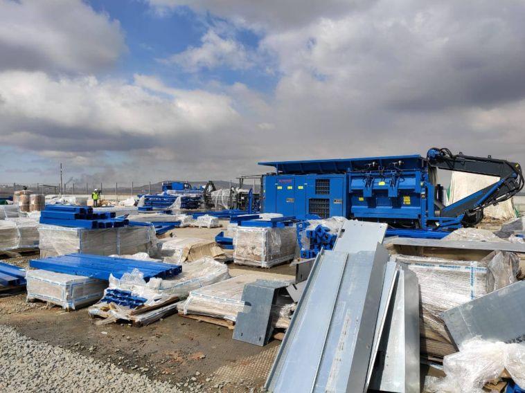В Магнитогорске продолжается строительство мусоросортировочного комплекса