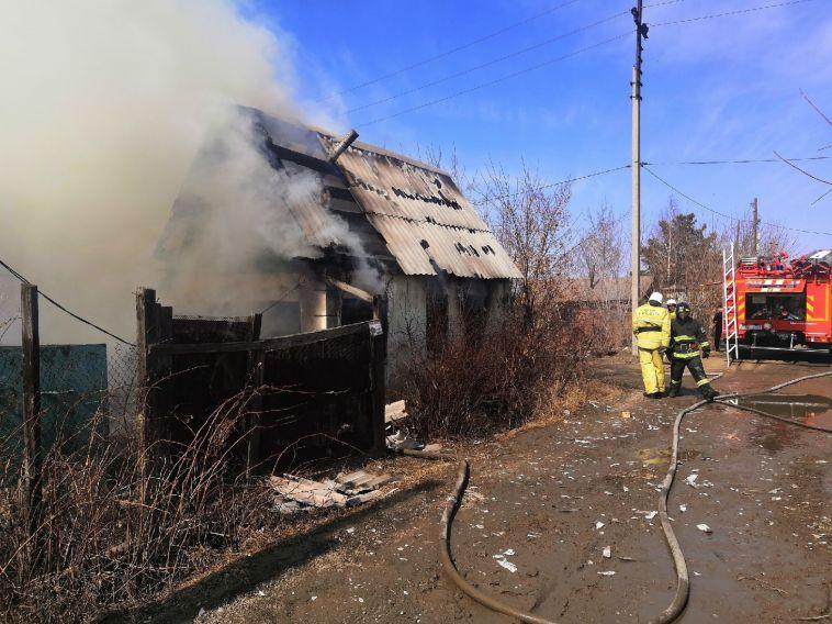 ВМагнитогорске при пожаре погиб человек