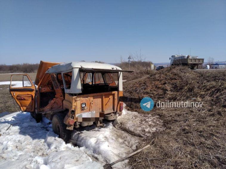 На трассе Стерлитамак-Белорецк-Магнитогорск погиб 82-летний водитель